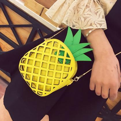Pineapple Coin Purse Phone Package ..
