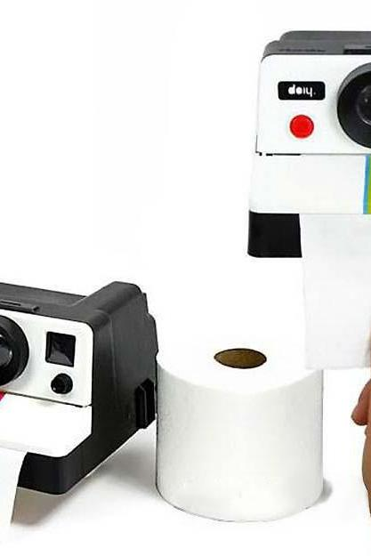 Retro Camera Tissue Box Cute Home Toilet Paper Box Creative Tissue Box