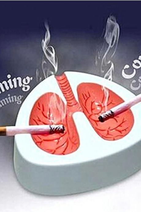 Funny Coughing Ashtray Creative Prank Quit Smoking Ashtray