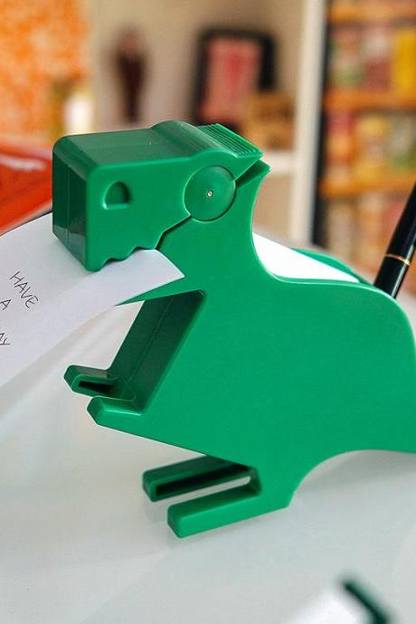 Dinosaur Memo Holder Sticky Cute Brush Pot Office Decoration Animal Message Board
