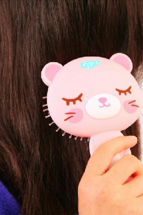 Cute Cartoon Comb Cat Air Cushion Comb Fashion Panda Comb Bear Comb