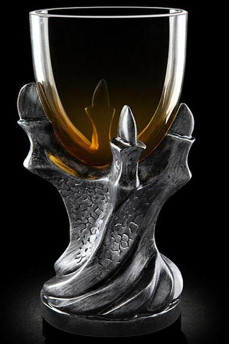 Game of Thrones 3D Dragon Claw Goblet Creative Gift Resin Glass