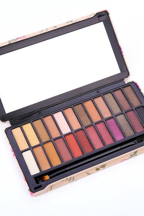 24 Colors Eyeshadow Palette Makeup Professional Matte Smokey Cosmetic Eye Shadows