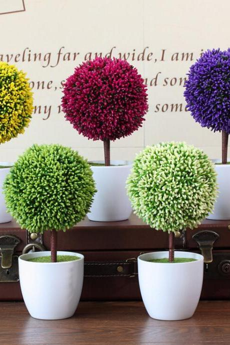 Artificial Trees Decorative Potted Creative Gift
