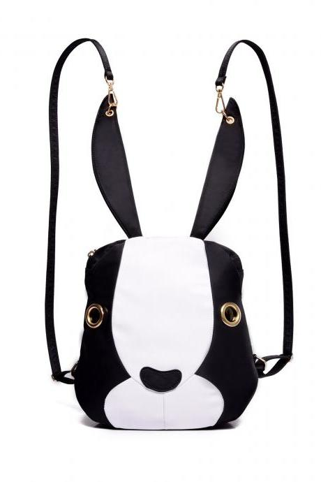Fashion Lovely Cartoon Rabbit Nylon Backpack
