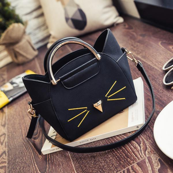 Lovely Cat Ears Handbag PU Shoulder Bags