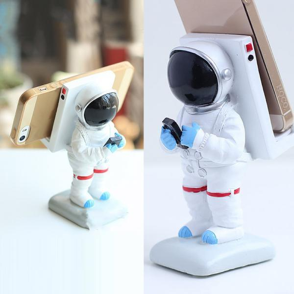 Fashion Astronaut Mobile Phone Bracket Creative Home Decoration Personality Gift