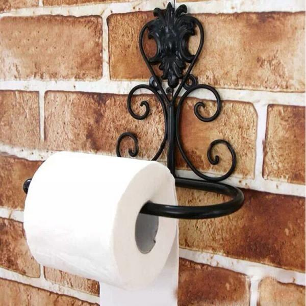 Creative Antique Toilet Tissue Box Fashion Toilet Paper Holder Bathroom Towel Rack