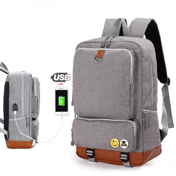 Fashion USB Charging Backpack Travel Backpack High Capacity Computer Backpack School Backpack
